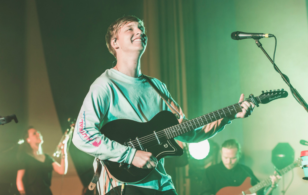 George Ezra performs at Bath Forum, June 7