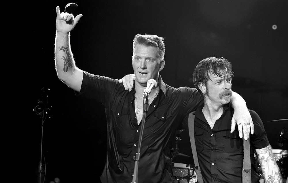 Josh Homme and Jesse Hughes