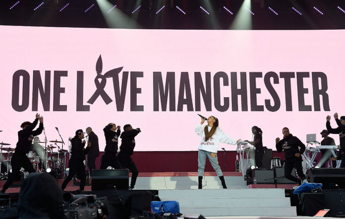 Ariana Grande's 'One Love Manchester' concert