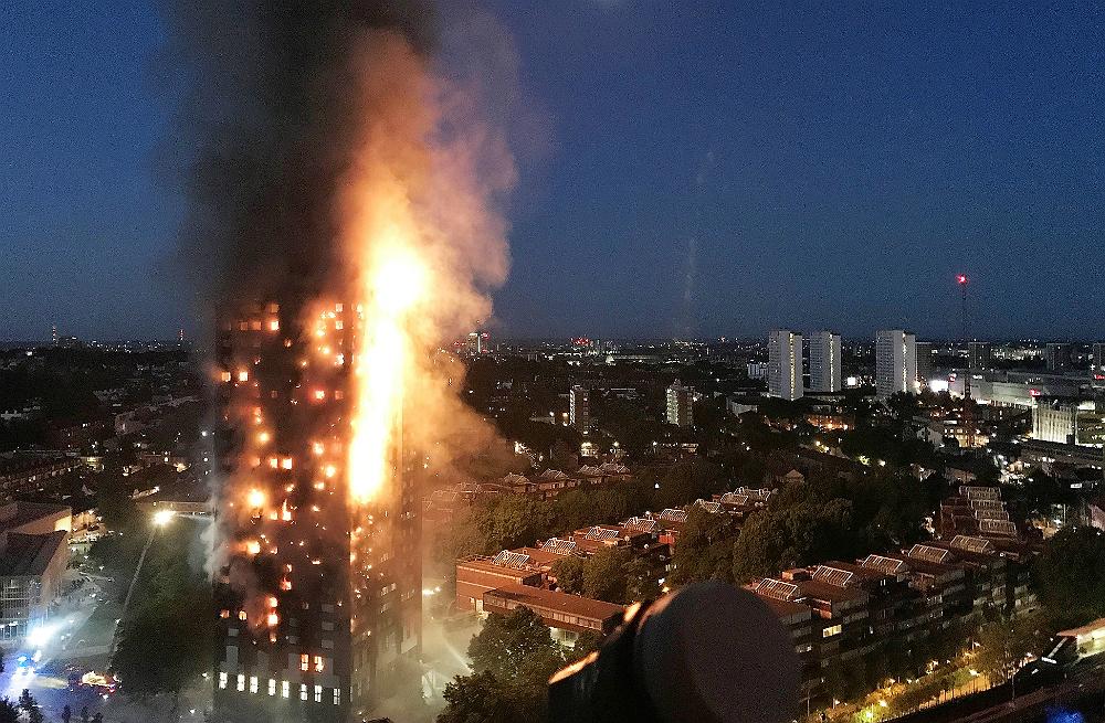 The Grenfell Tower blaze