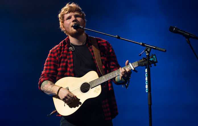 Ed Sheeran live at Glastonbury
