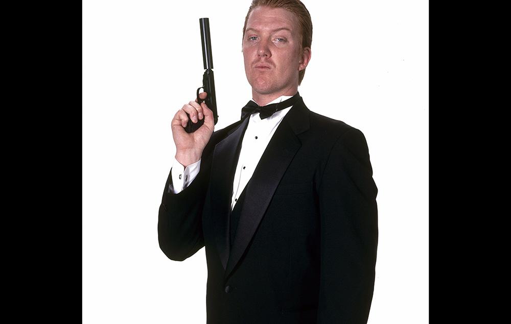 Josh Homme as James Bond