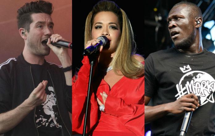 Dan Smith, Rita Ora, Stormzy