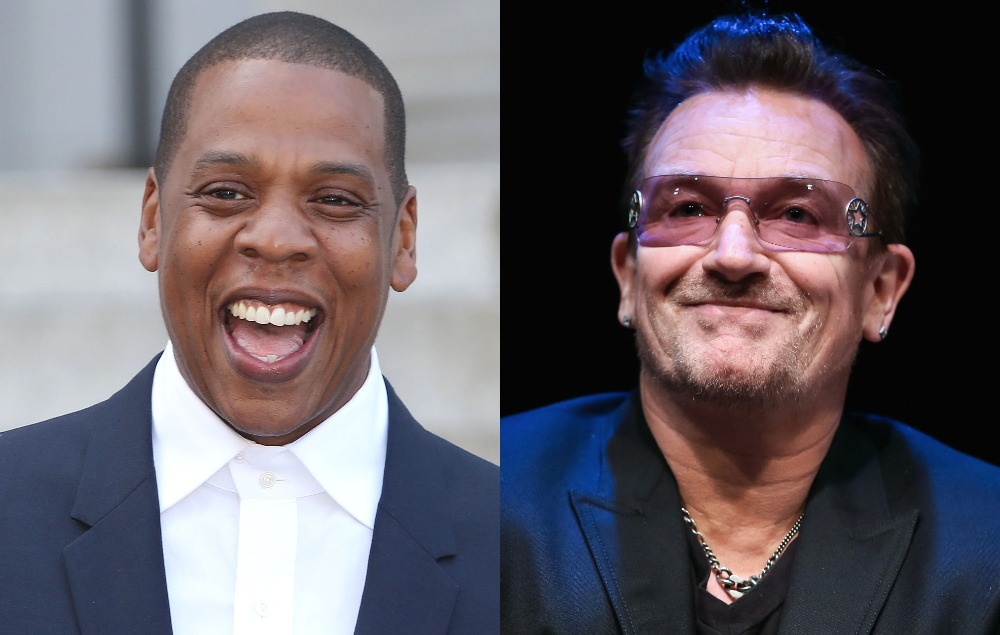 Bono calls Jay Z the 'archangel of hip' as rapper is inducted into Songwriters Hall of Fame