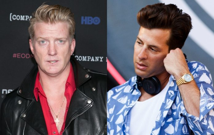 Josh Homme and Mark Ronson