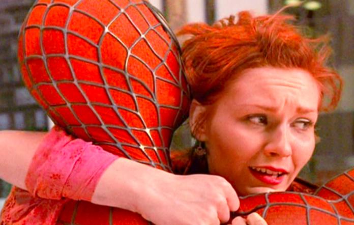 Kirsten Dunst in the original 'Spider-Man' trilogy