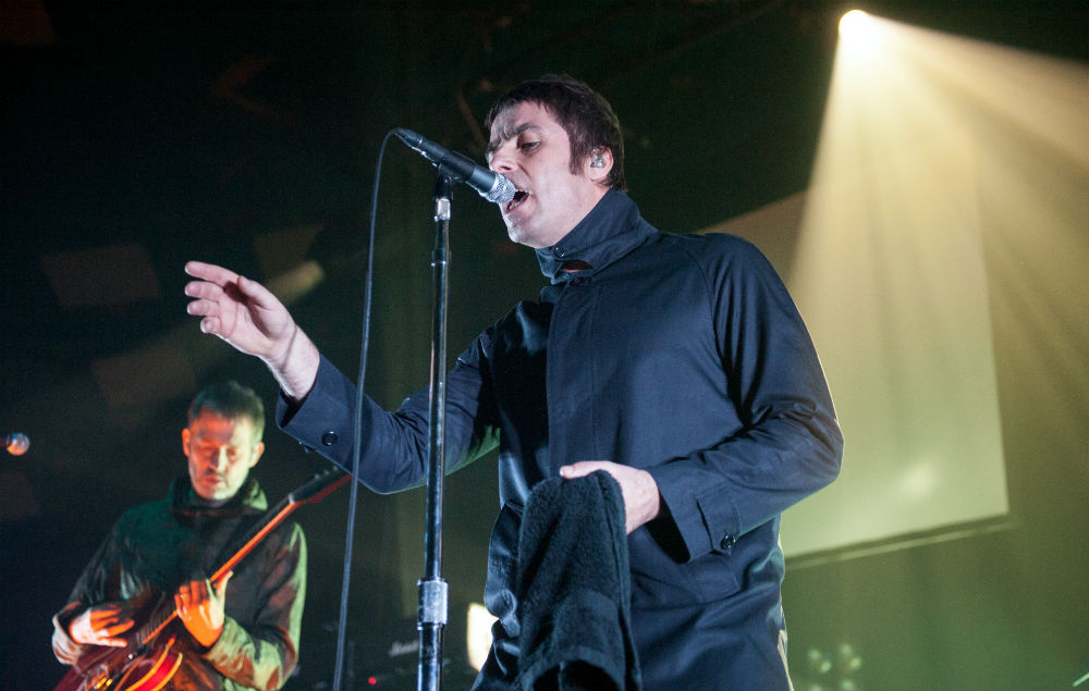 Liam Gallagher in Beady Eye