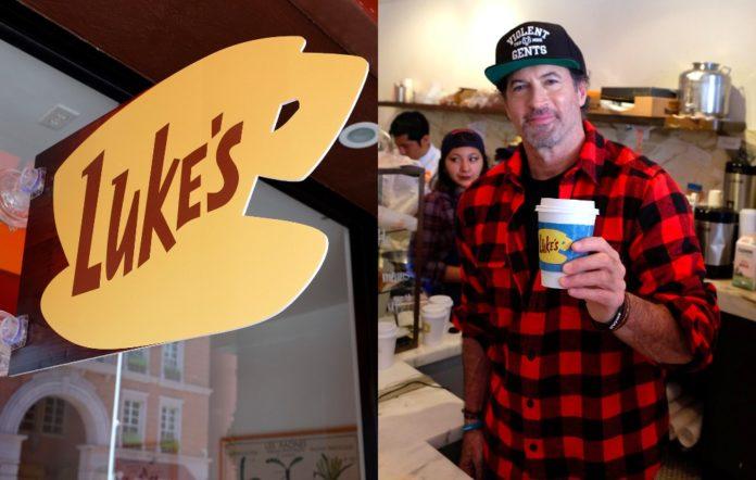 Luke Gilmore Girls coffee