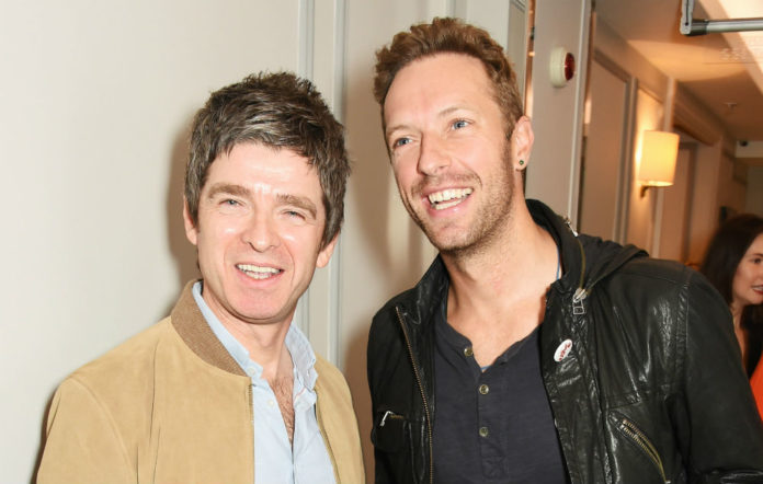 Noel Gallagher, Chris Martin