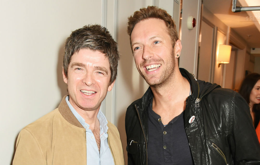 Noel Gallagher, Chris Martin