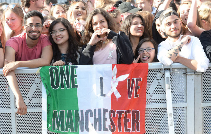 One Love Manchester fans