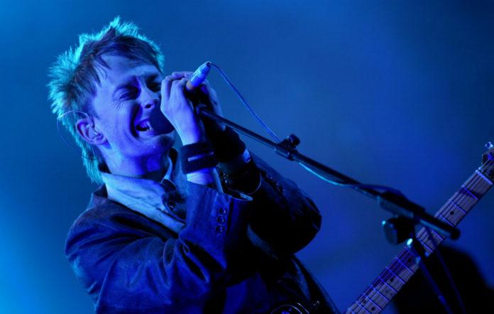 Radiohead's Thom Yorke performs at Glastonbury 2003