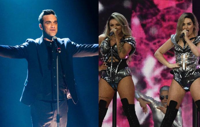 Robbie Williams, Little Mix