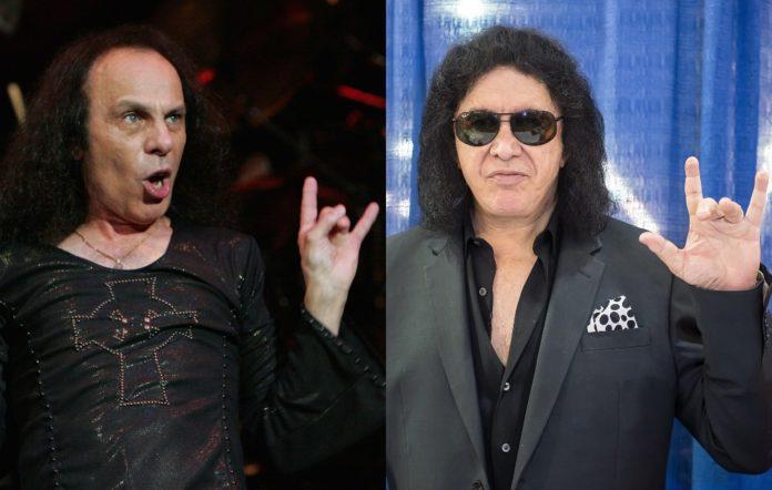 Ronnie James Dio Gene Simmons