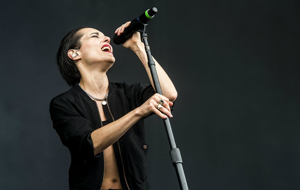 Savages at Rock Werchter 2017
