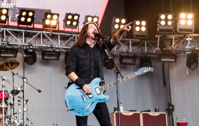 Foo Fighters at Secret Solstice