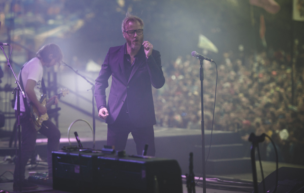 The National at Glastonbury 2017