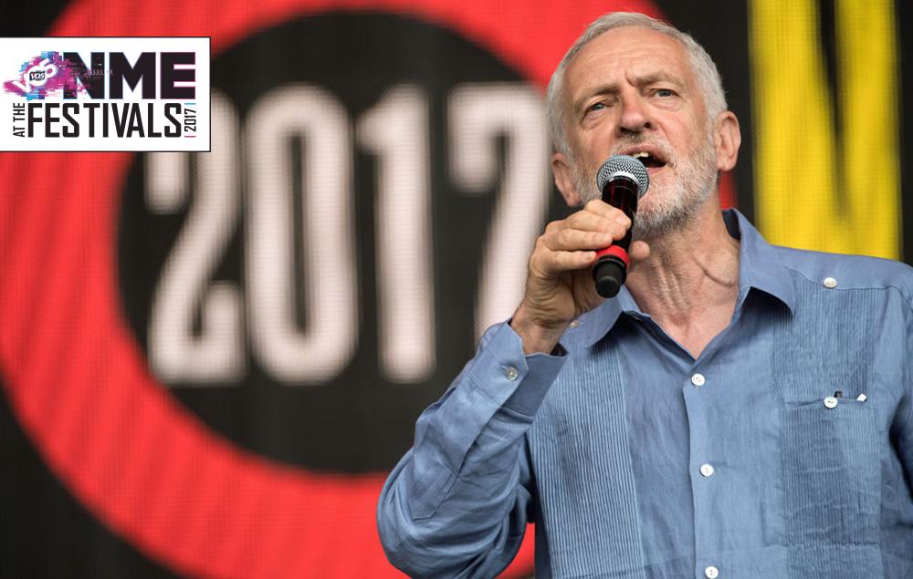 Corbyn Glastonbury