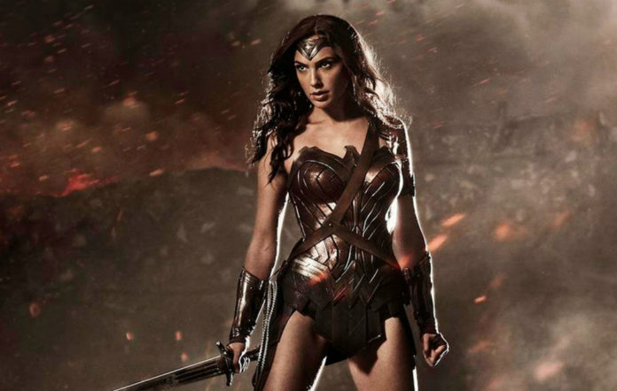 Gal Gadot starring as Wonder Woman in Batman V Superman: Dawn of Justice