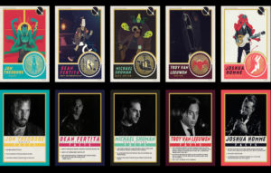 Queens Of The Stone Age trading cards