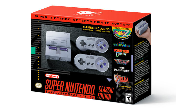 The Nintendo SNES Classic Edition 2017