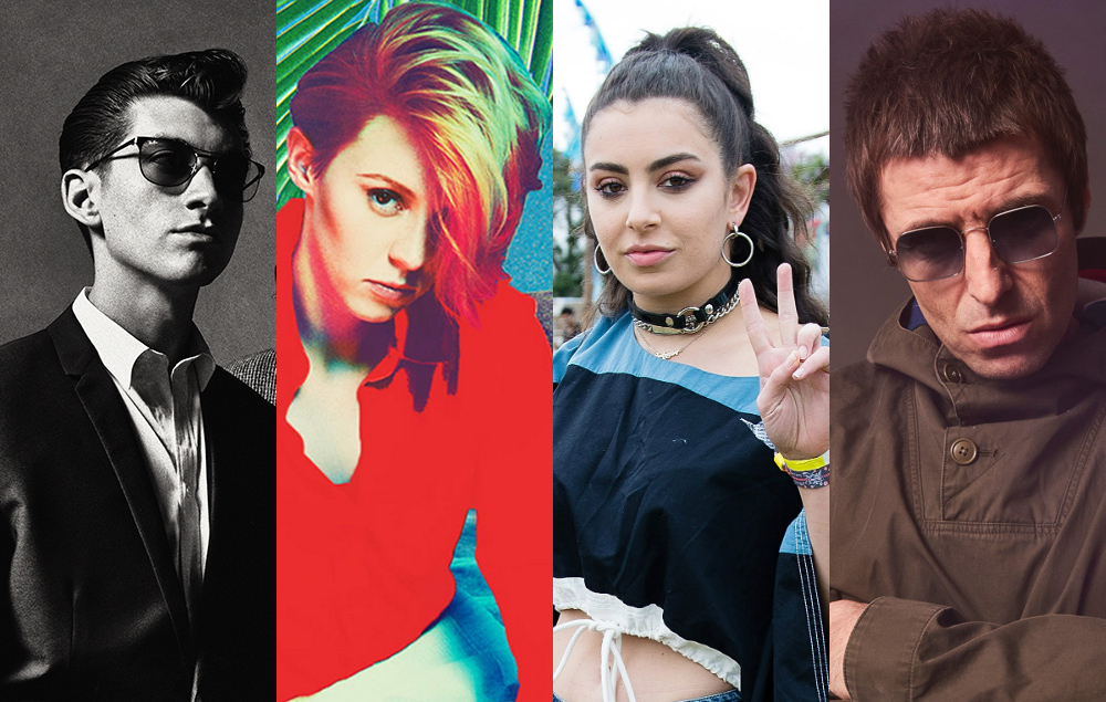 Arctic Monkeys, La Roux, Charli XCX, Liam Gallagher