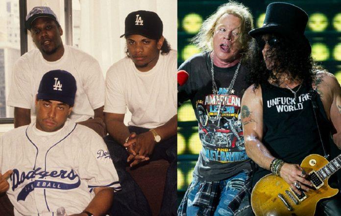 NWA and Guns N' Roses
