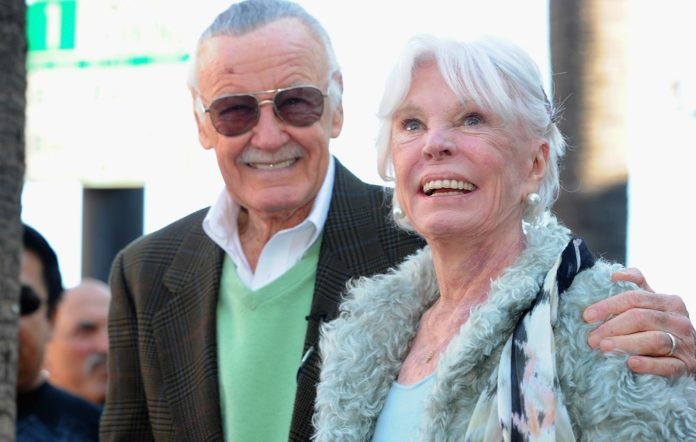 Stan and Joan Lee