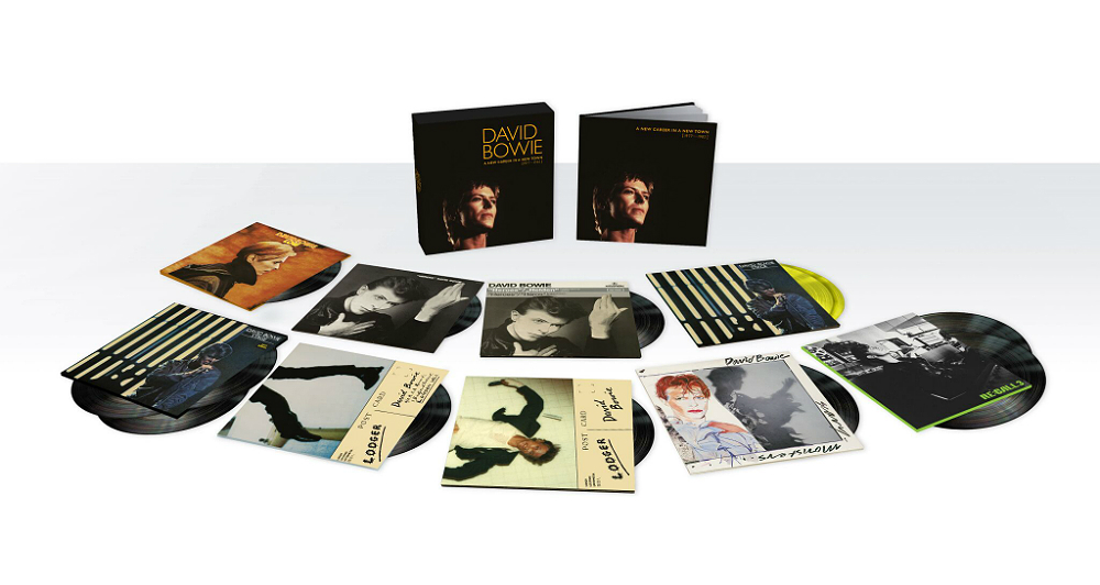 The David Bowie 'A New Career In A New Town' vinyl box set