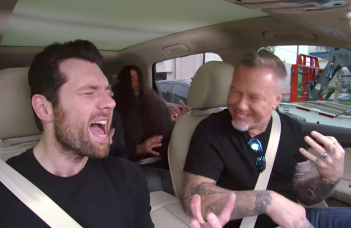 Carpool karaoke tv show