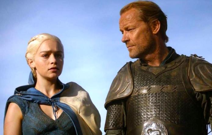 Daenerys and Ser Jorah