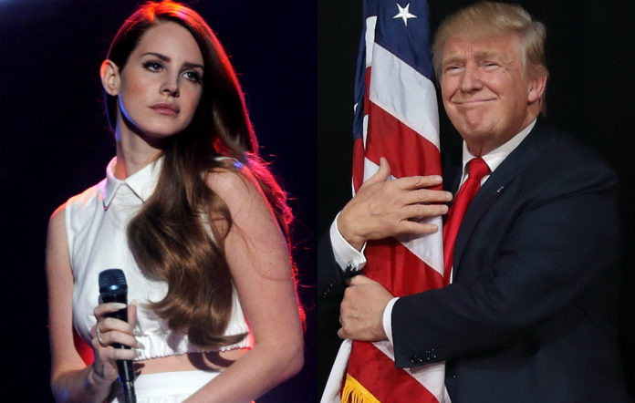 Lana Del Rey and Donald Trump