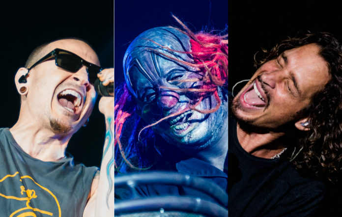 Chester Bennington, Slipknot's The Clown, and Chris Cornell