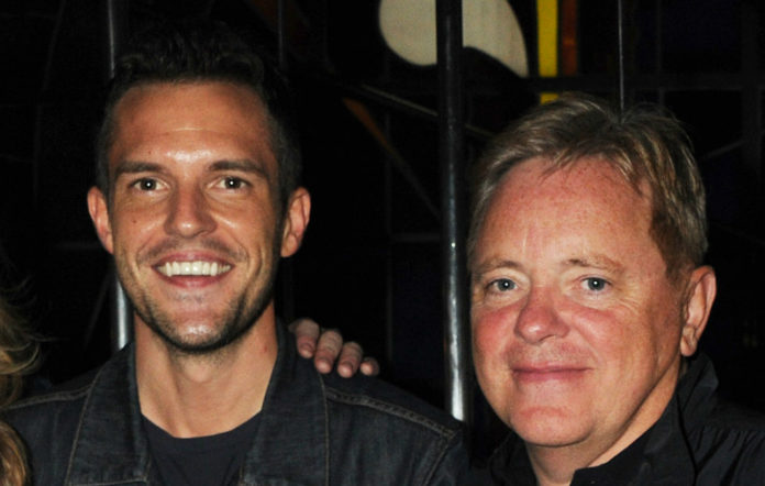 The Killers' Brandon Flowers and New Order's Bernard Sumner
