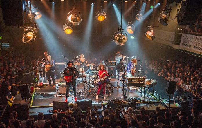 Arcade Fire at London's York Hall