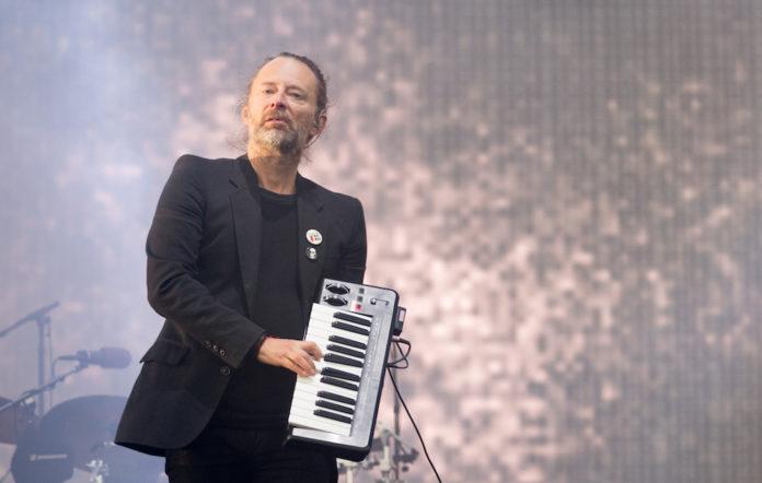 Radiohead secret message