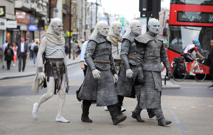 White Walkers Game of Thrones London