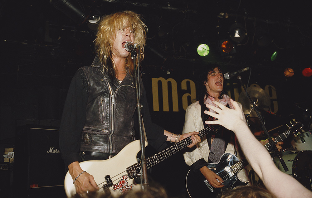 Duff McKagan and Izzy Stradlin