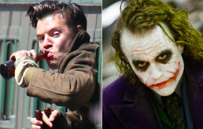 Harry Styles in 'Dunkirk', Heath Ledger in 'The Dark Knight'
