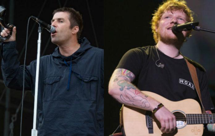 Liam Gallagher, Ed Sheeran