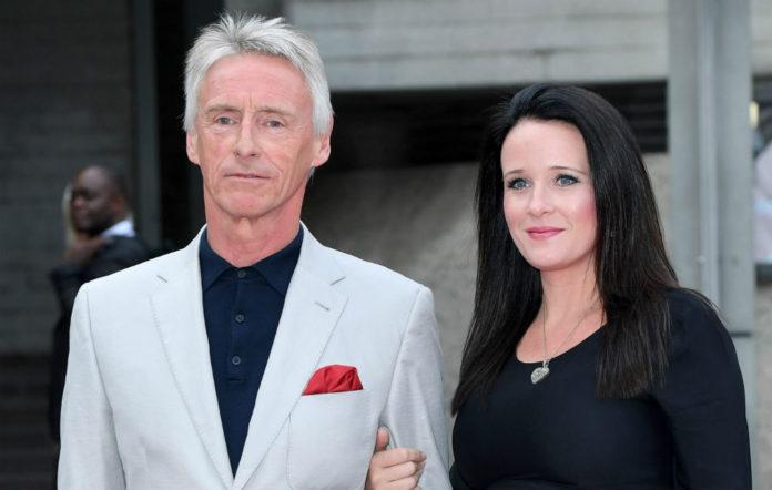 Paul Weller and partner Hannah Andrews