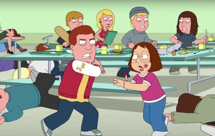 Meg in Family Guy
