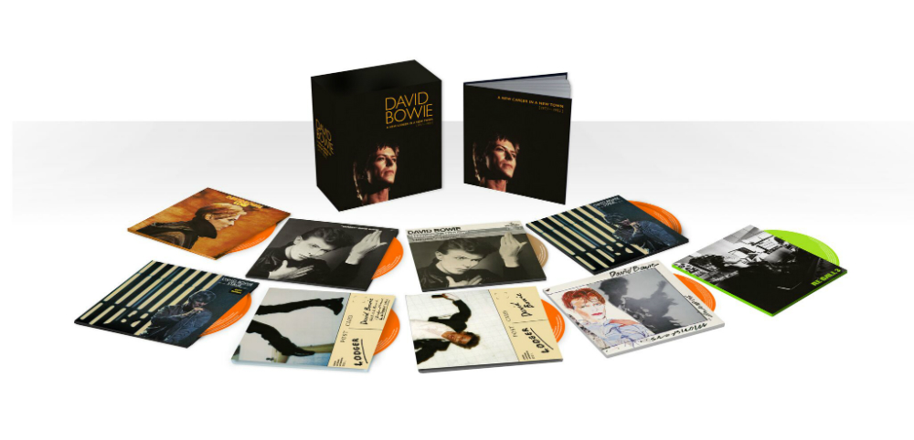 The David Bowie 'A New Career In A New Town' CD box set