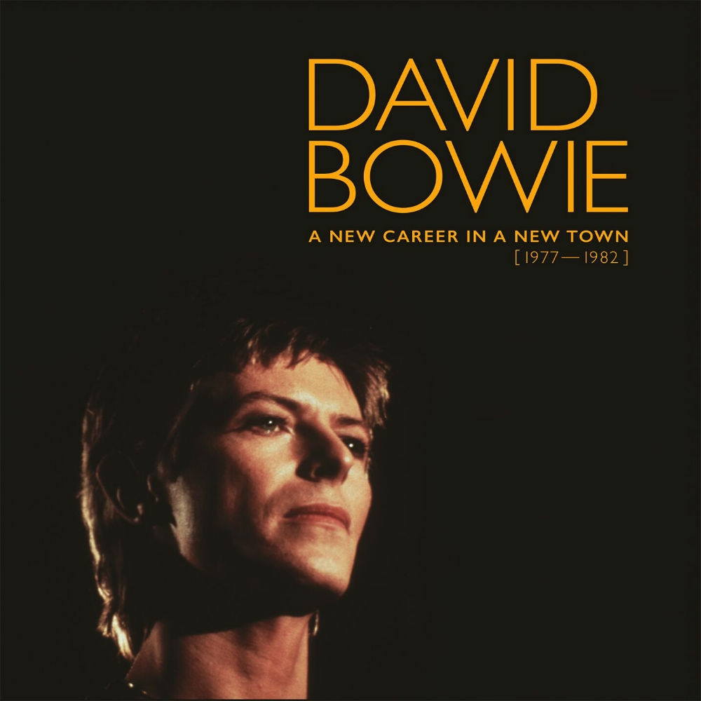The David Bowie 'A New Career In A New Town' artwork