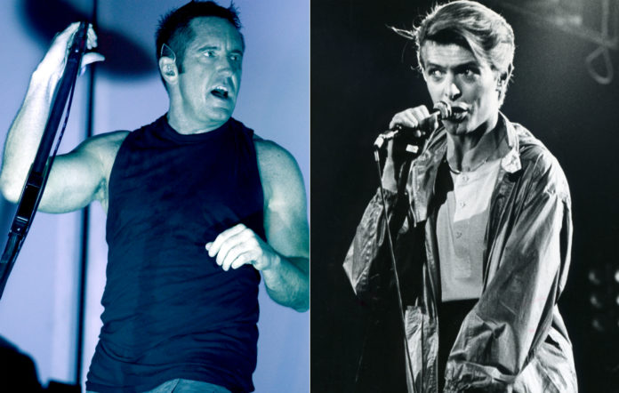 Nine Inch Nails' Trent Reznor and David Bowie