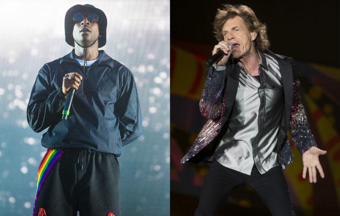 Skepta and Mick Jagger