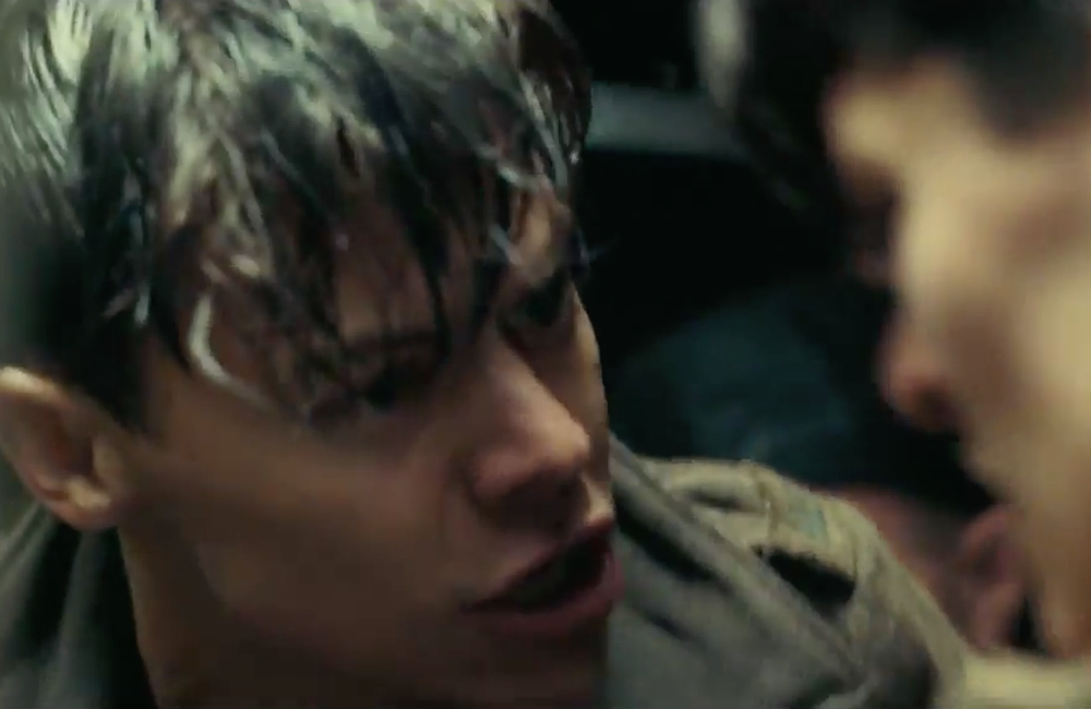 watch harry styles do some real acting in two new dunkirk trailers nme watch harry styles do some real acting