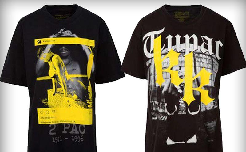 Jenner tshirts Tupac