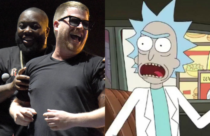 Run The Jewels Rick and morty