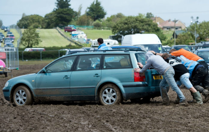 Y Not festival cancelled car parks
